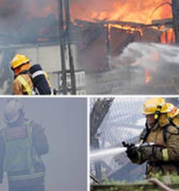 Clean-up begins after Mitre 10 blaze - NZ Herald