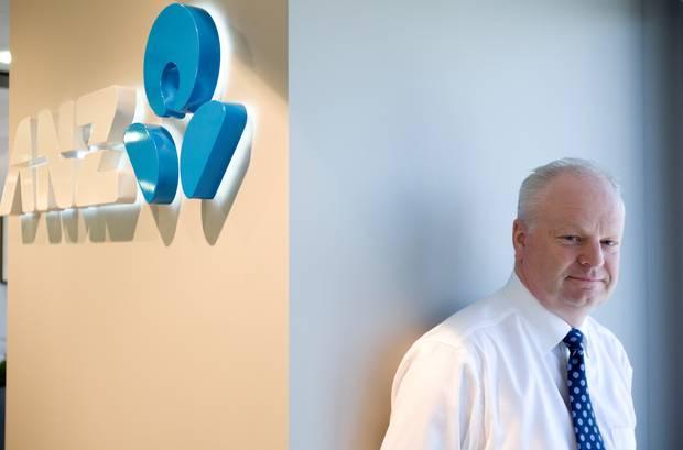 Former ANZ boss David Hisco. Photo / File