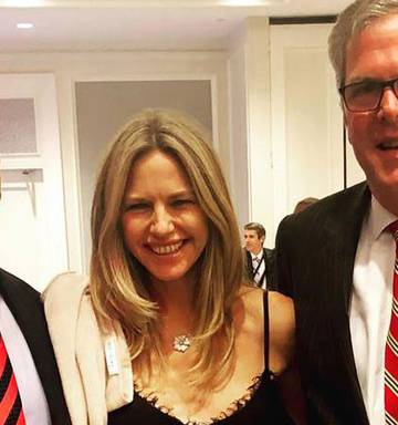 Rich Listers' night out with Jeb Bush - NZ Herald