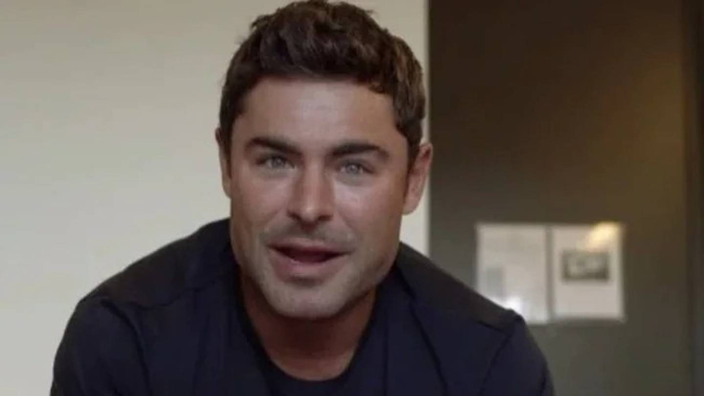 Zac Efron has a new look - and fans aren't happy about it. Photo / Supplied