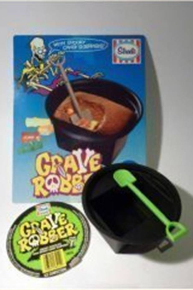 The Grave Robber featured chocolate ice cream and fizzy lollies.