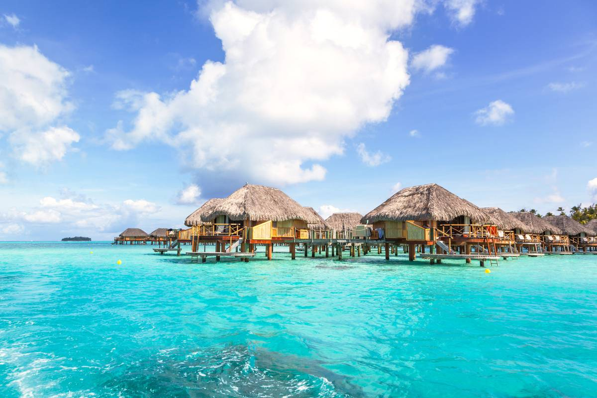 Overwater bungalows no barrier to travel dreams on a budget