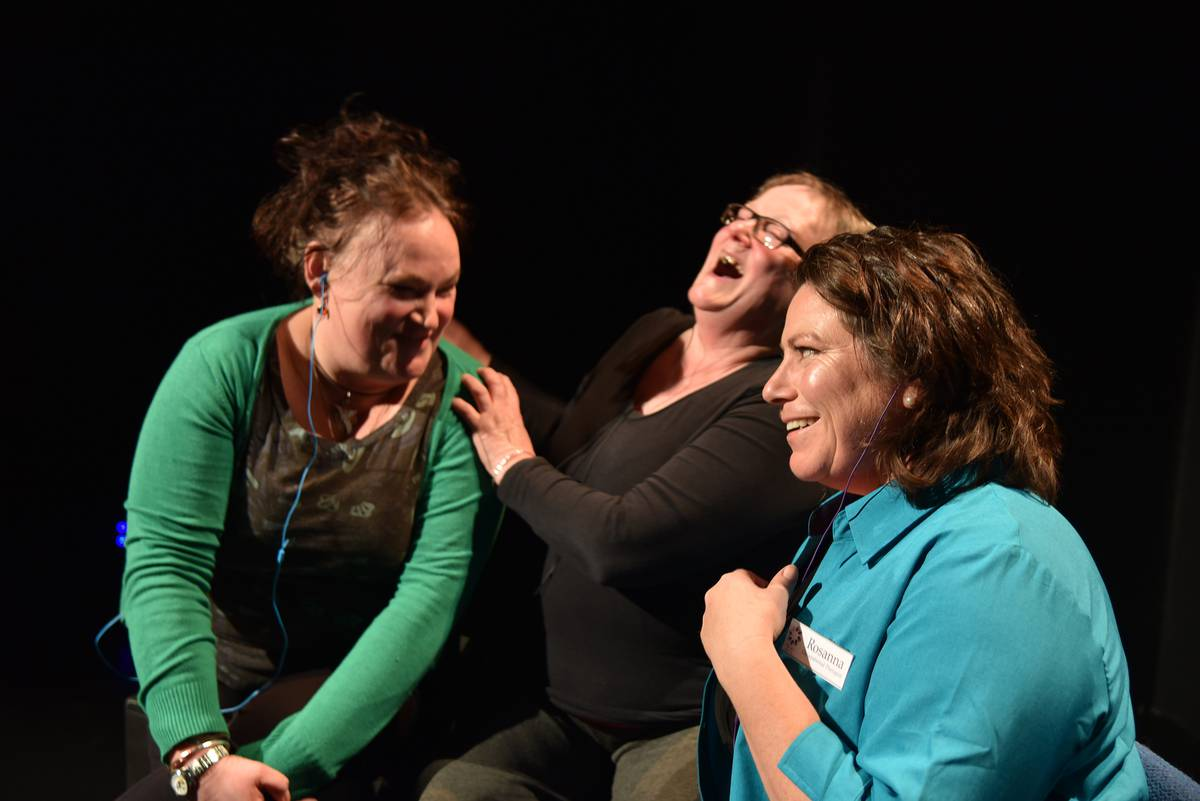 verbatim theatre is essential in story