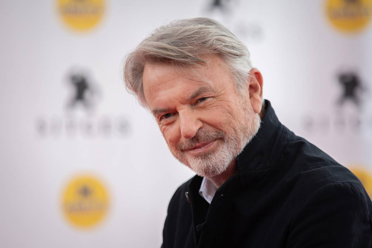 Sam Neill on 'toxic' social media – and why he doesn't do 'man hugs'