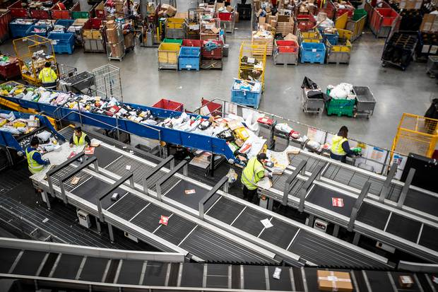 NZ Post are dealing with increased parcel volumes during the Covid-19 pandemic. Photo / Michael Craig