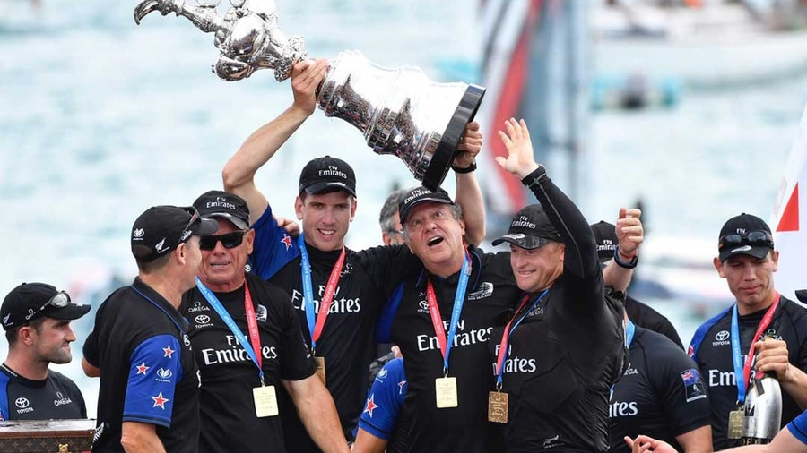 New Zealand wins the America's Cup after 17 years