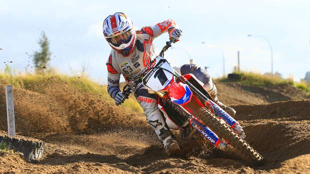 Mt Maunganui's Cody Cooper has finished runner-up in the New Zealand Motocross Championship ahead of a US campaign that starts in May. Photo / Photography Inmotion / Greg Henderson