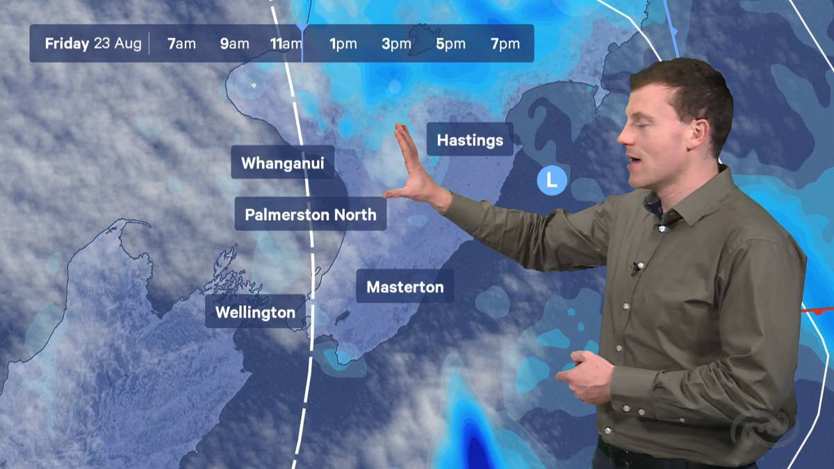 MetService Weather Wellington: August 23rd