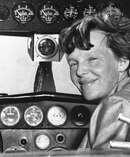 Amelia Earhart's plane vanished over the Pacific Ocean in 1937 as she was attempting to become the first female pilot to fly around the world. Photo / AP