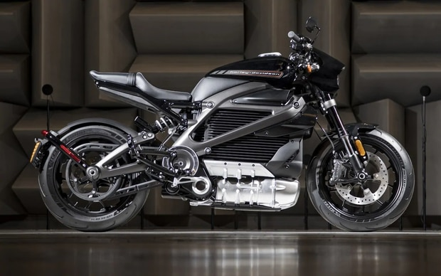 Harley-Davidson's LiveWire electric motorcycle. Image / Supplied.
