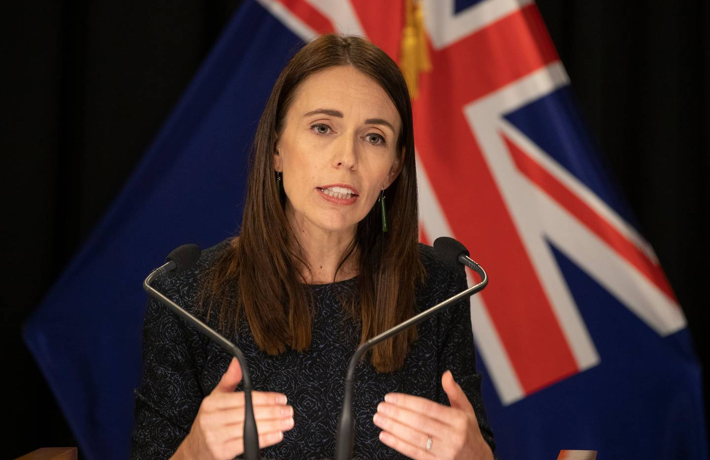 Prime Minister Jacinda Ardern is holding a post-Cabinet press conference at 4pm, where she will provide the latest update on a Cook Islands travel bubble. Photo / Mark Mitchell