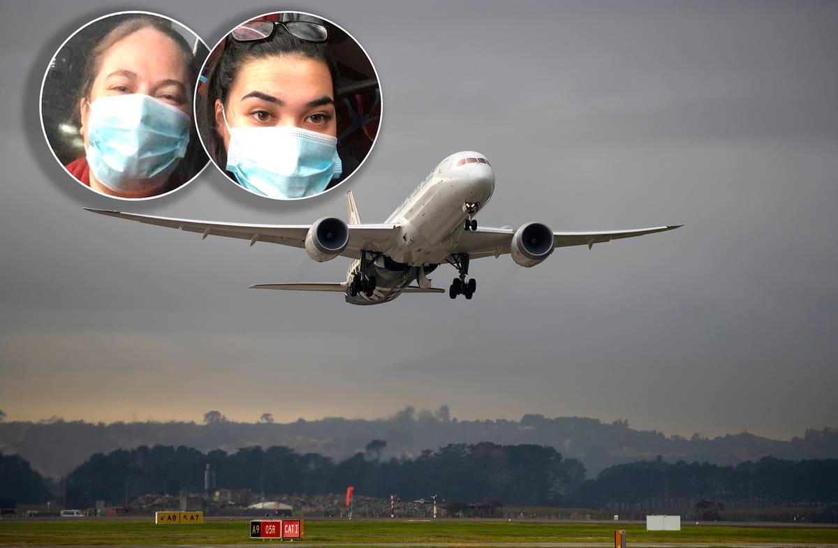 Covid 19 coronavirus: Hysterical scenes as passengers in Auckland taken off plane to quarantine