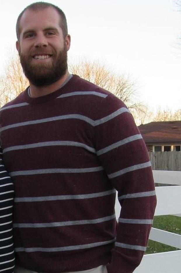 Seventh grade science teacher Jason Seaman, 30. Photo / Supplied