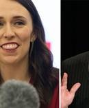 Jacinda Ardern and Winston Peters. Photos / Mark Mitchell