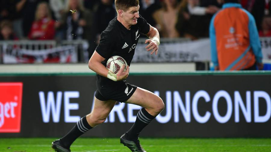 All Black Jordie Barrett ruled out for rest of season
