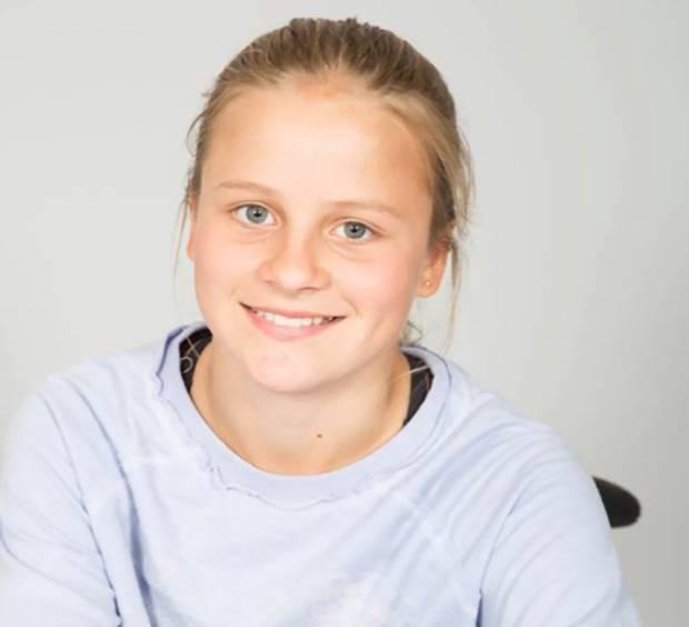 Holly, David Pretorius' 15-year-old daughter.