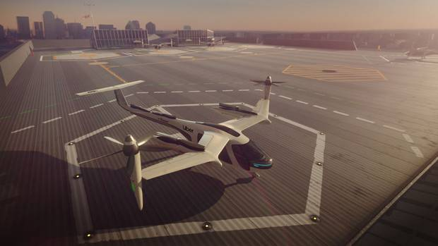 Uber is working with Boeing, Embraer, Bell, Pipistrel and Karem Aircraft to produce its electric flying taxis. Photo / Supplied