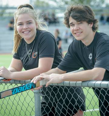 Hockey Sasha Norris And Lucca Burley Itching To Take On The