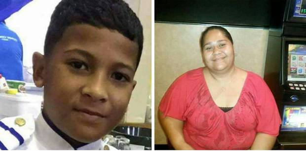 Sione Taumalolo, 11, and Talita Moimoi, 33, died in the Christmas Eve crash. Photos / Supplied