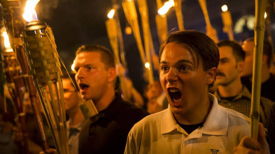 White nationalist loses job after photo goes viral
