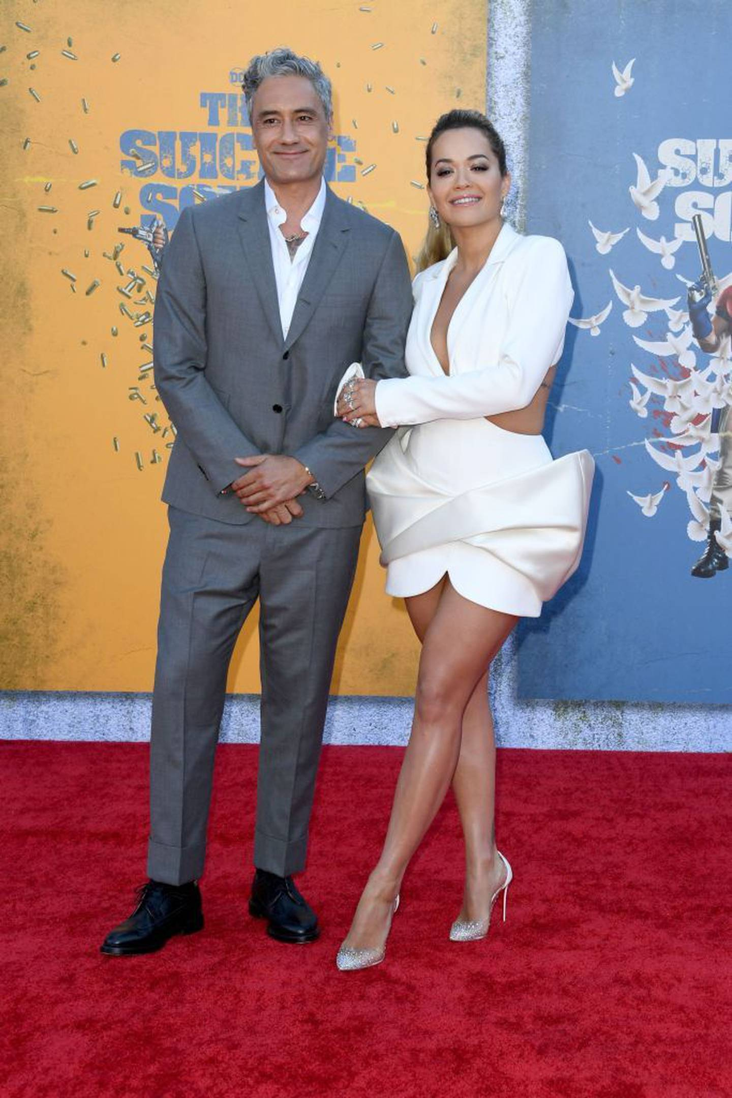 Ora and Waititi first sparked romance rumours in April this year. Photo / Getty Images