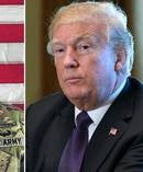 President Donald Trump reportedly promised money to Army Cpl. Dillon Baldridge's family.