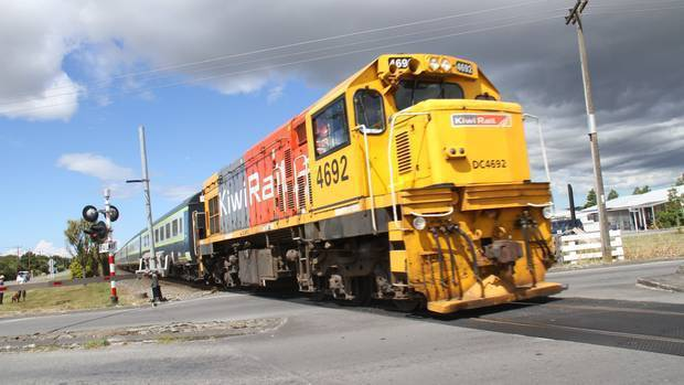 The KiwiRail Papakura to Pukekohe project - expected to begin at the end of 2020 - includes electrification of 19km of track currently only available to diesel trains in South Auckland. Photo / File