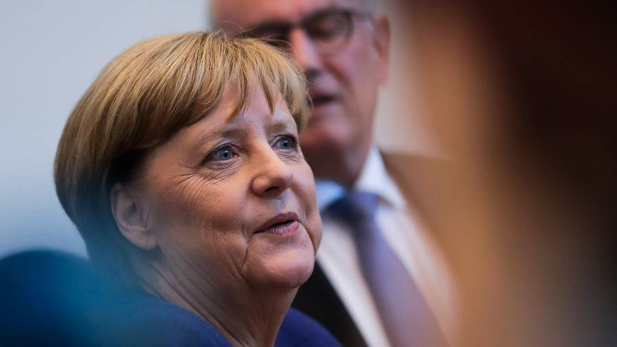 King congratulates German Chancellor for winning fourth term