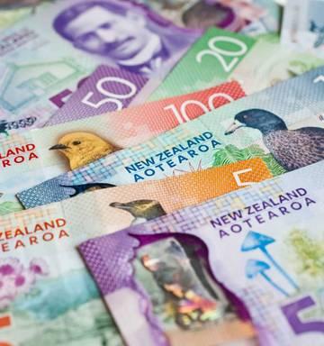 Nz Dollar Falls As Magnitude Of Us