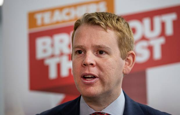 Education Minister Chris Hipkins. Photo / Mark Mitchell
