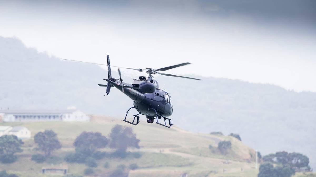 Christchurch man charged with lasering police helicopter