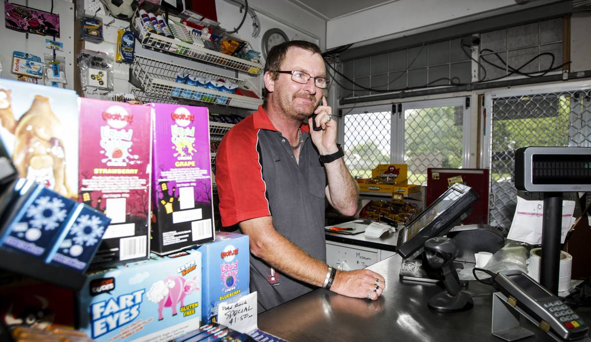 Napier service station retailer almost deceived by phone