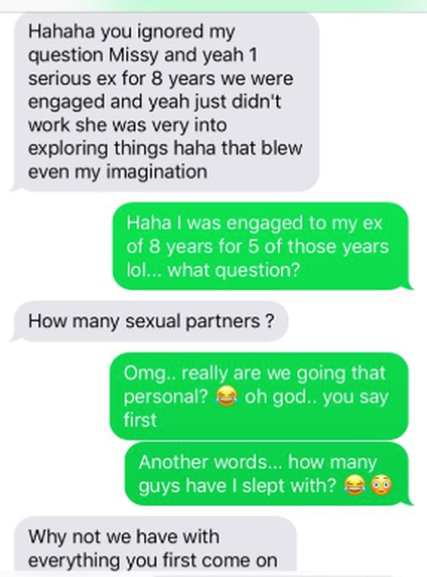 The man pushed the woman to answer questions about her sex life which made her uncomfortable. Photo / supplied