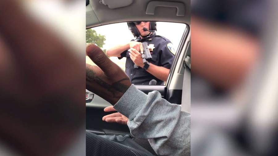 California Cop Points Gun at Passenger for 9 Minutes