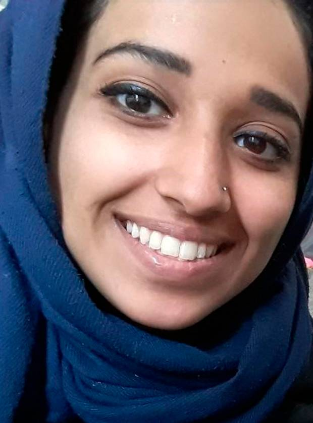 Hoda Muthana, an Alabama woman who left home to join Isis after becoming radicalised online. Muthana realised she was wrong and sought to return to the US.