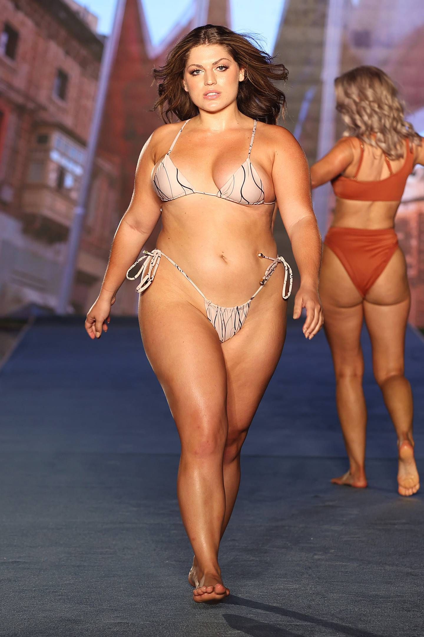 Women of all shapes flaunted their figures. Photo / Getty Images