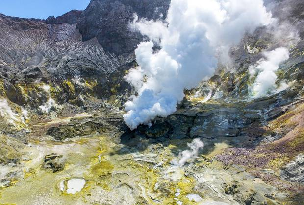Whakaari: Volcanic White Island was a popular shore excursion for cruise lines. Photo / File