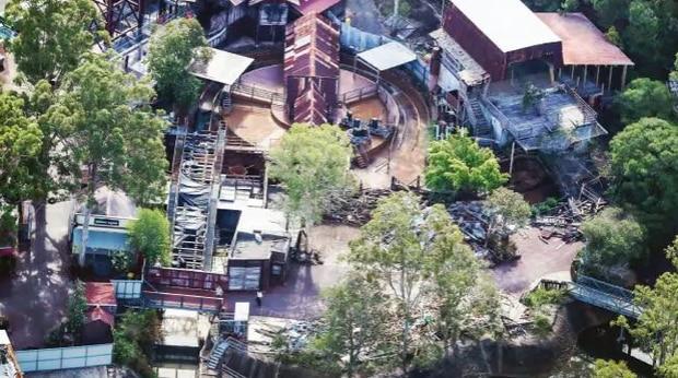Dreamworlds Thunder River Rapids Ride getting removed. Photo / News Corp Australia