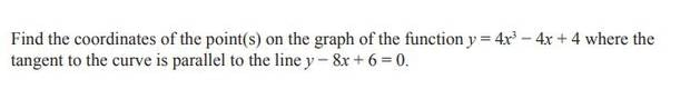 Question 1(b) of the NCEA Level 2 Calculus exam.