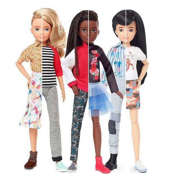 Each of the six dolls comes with two separate hairstyles and a range of clothes. Photo / Mattel