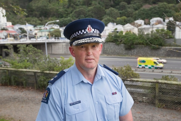 Superintendent Steve Greally, police national road policing manager. Photo / Mark Mitchell