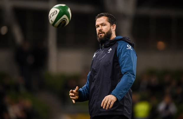 Rugby: Andy Farrell's defence Ireland's real weapon in defeat over All Blacks
