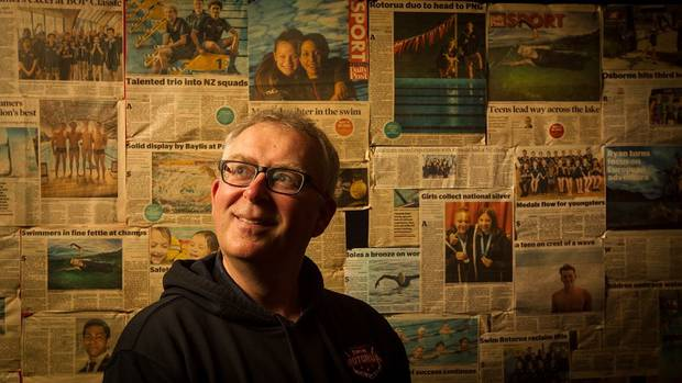 Alastair Johnson has a new job with Swimming NZ after spending the last seven years transforming Swim Rotorua. Photo / Stephen Parker