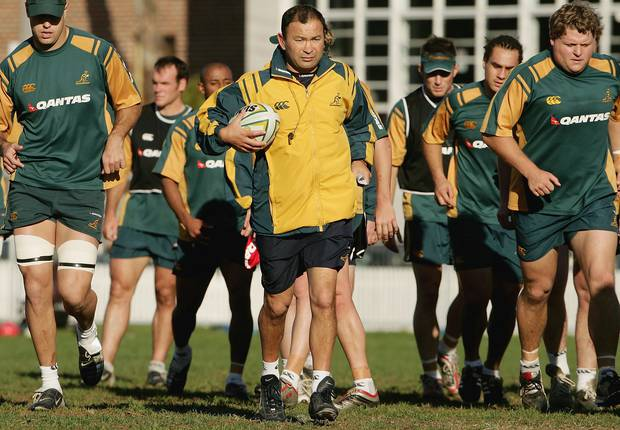 Eddie Jones coached the Wallabies between 2001 and 2005. Photo / Getty