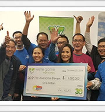 Awesome Eleven' group of friends wins $1 5 million in huge Mega