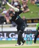 New Zealand's Martin Guptill batting. Photosport