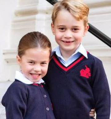Watch: Princess Charlotte arrives for her first day of