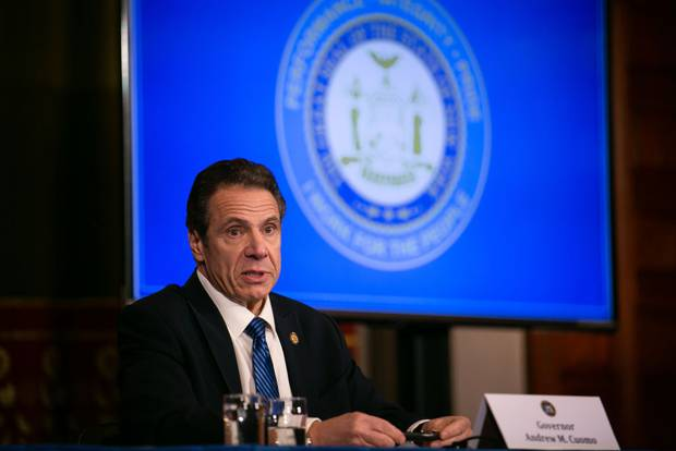 New York Governor Andrew Cuomo. Photo / Getty Images