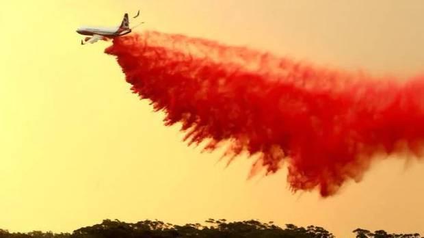 Firefighters have battled blazes across NSW. Photo / News.com.au