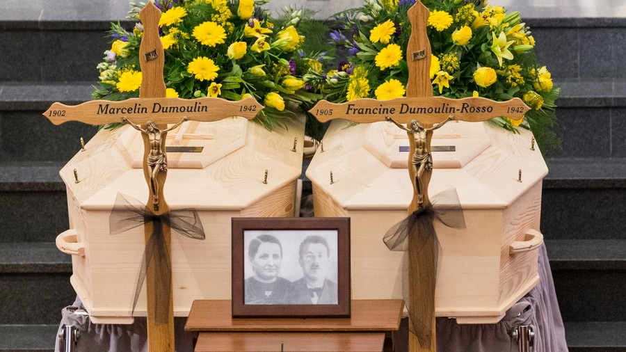 Swiss couple buried after being missing in Alps for 75 years